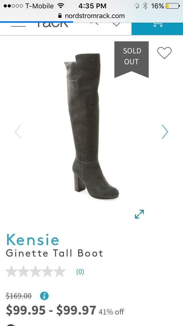 Kensie Ginette Over The Knee Boots