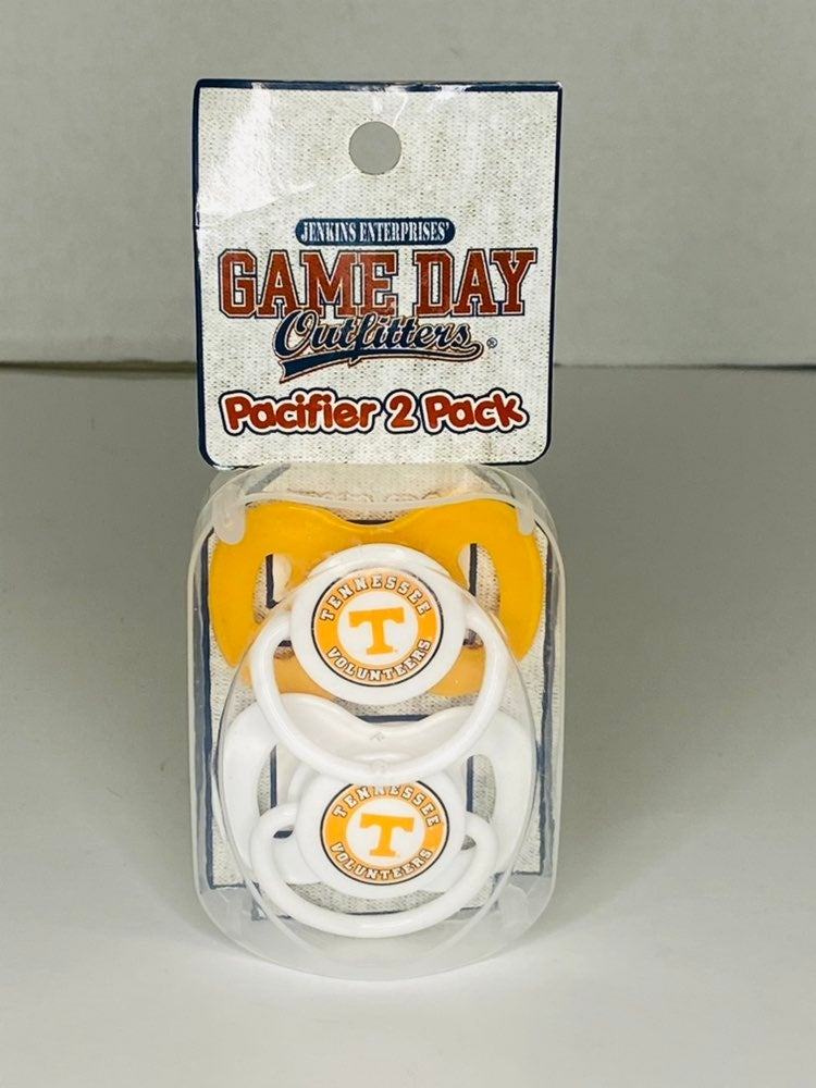 Game Day Outfitters Pacifier 2 Pack Tenn