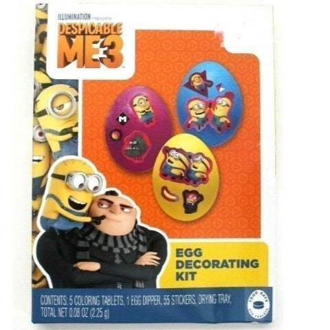 Despicable Me 3 Easter Egg Decoratingkit