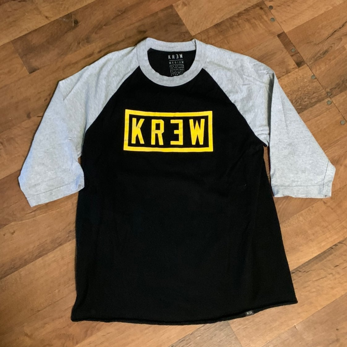 Krew Men's 3/4 Sleeve Shirt