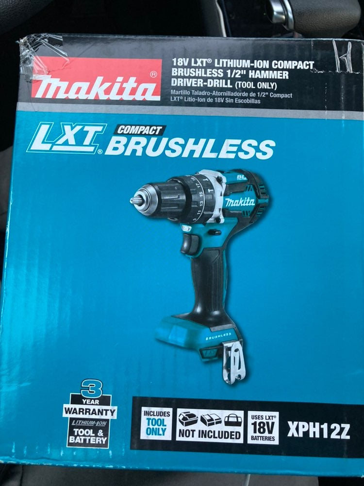 LXT brushless compact 1/2 hammer driver