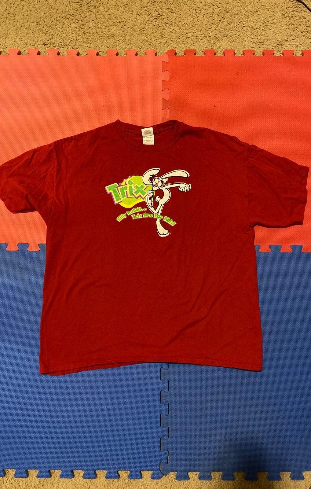 Trix Cereal Snack Promo Tshirt (XL)