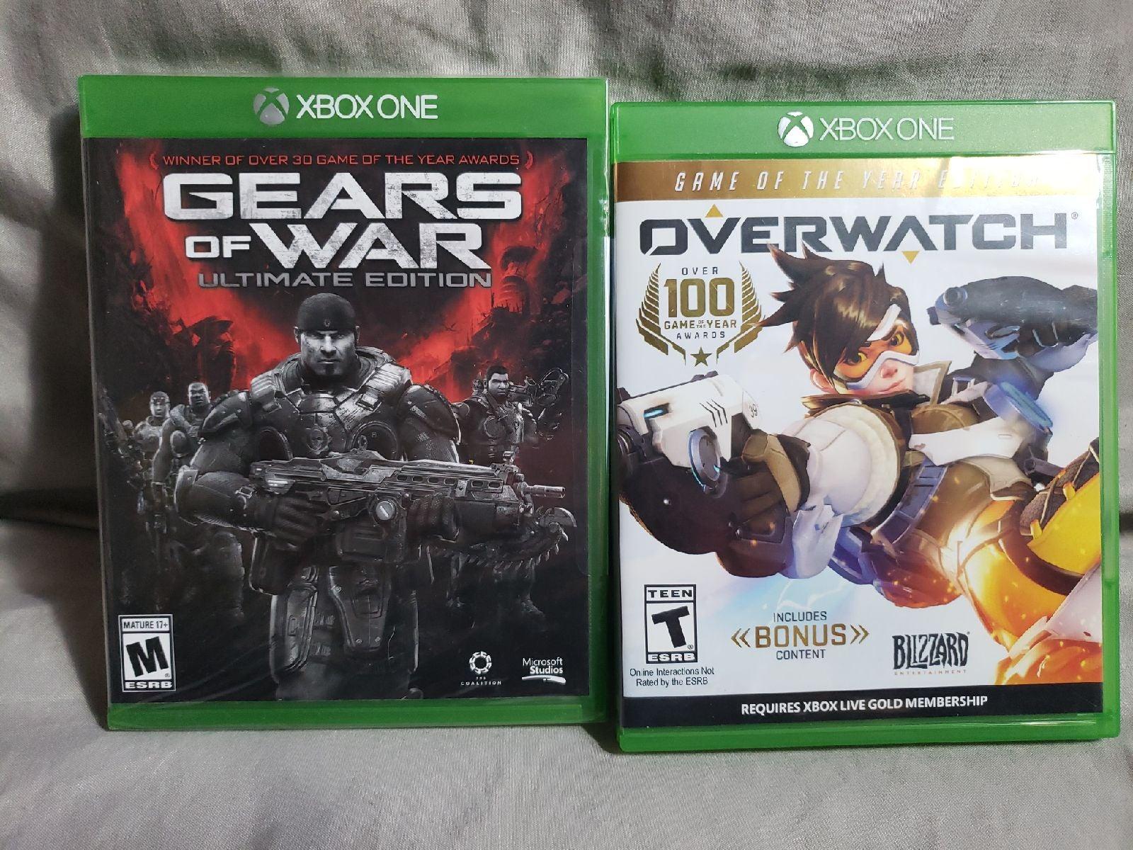 Gears of War /Overwatch-[XboxOne]
