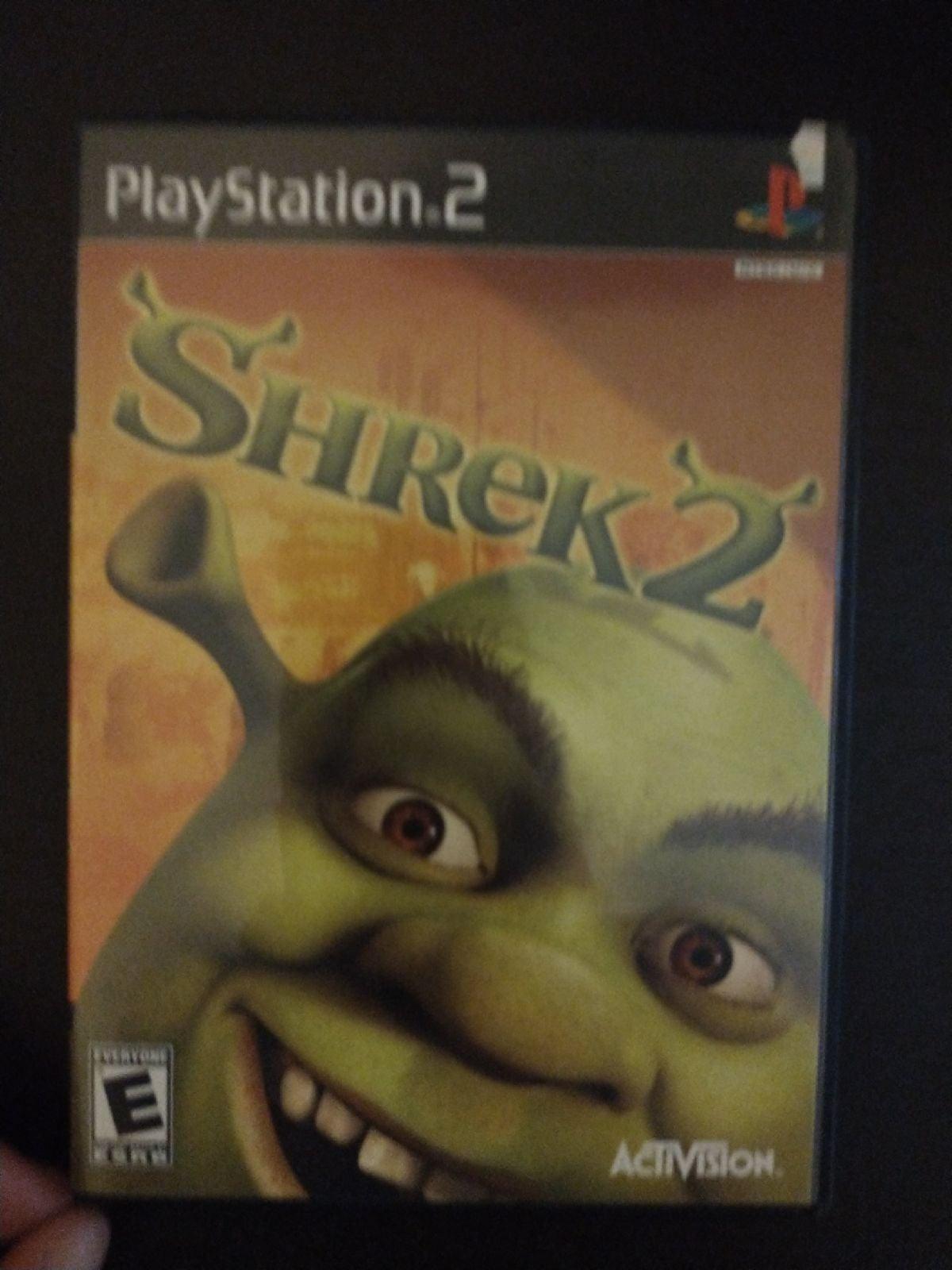 Shrek 2 on Playstation 2