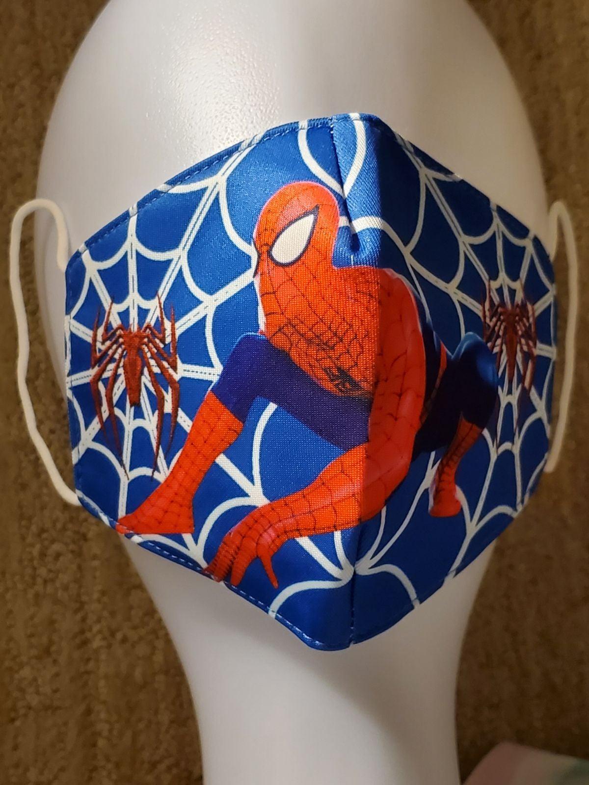 Spiderman Children's Mask in Blue
