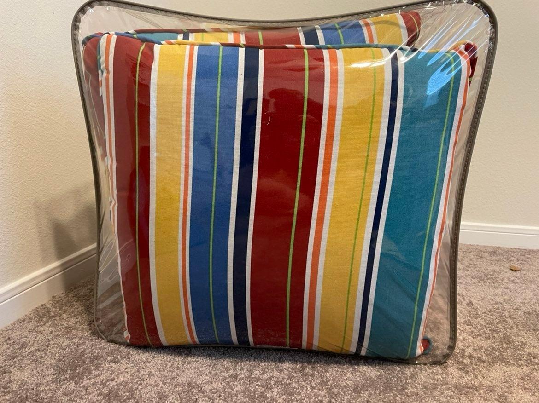 Outside patio cushions/pillows