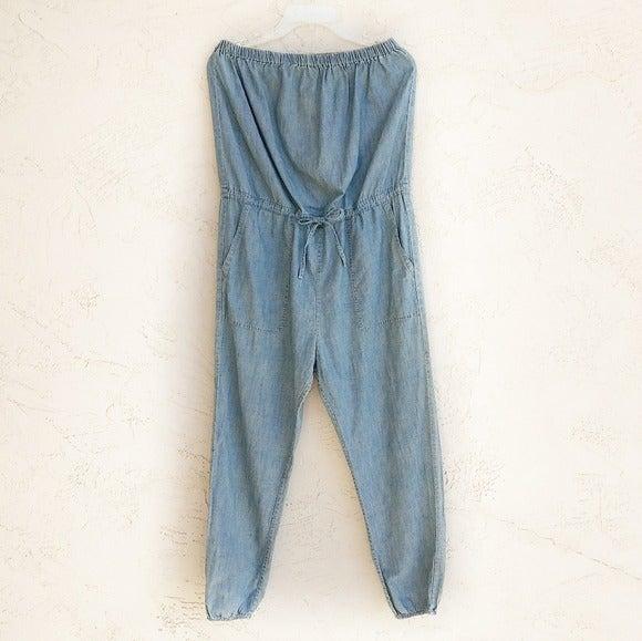 DENIM & SUPPLY Strapless Jumpsuit Size M