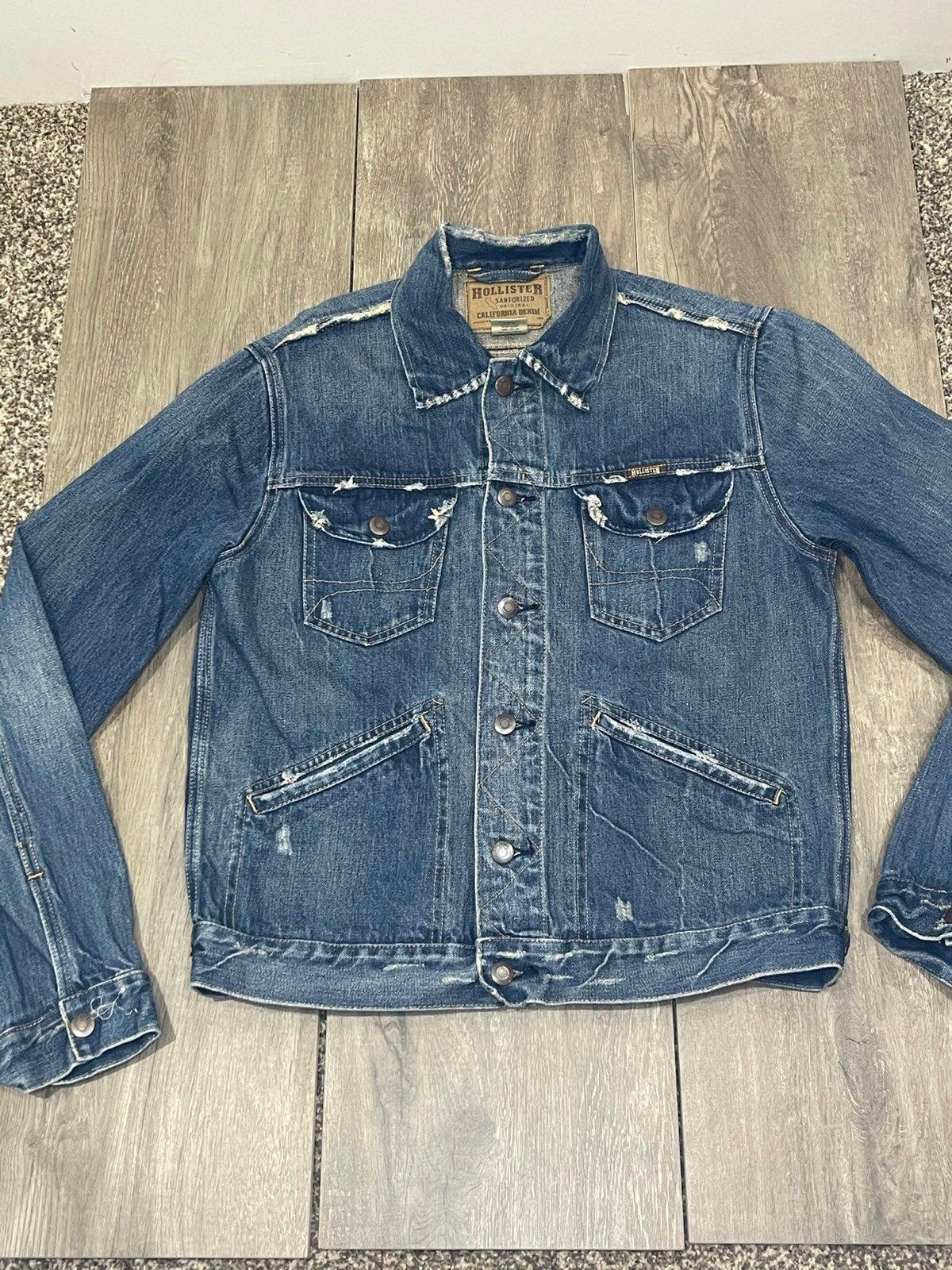 Vintage Hollister Denim Jean Jacket