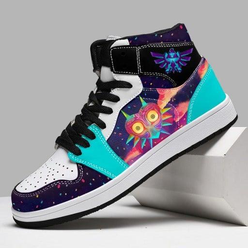 Zelda Colorful Majora Custom Sneaker