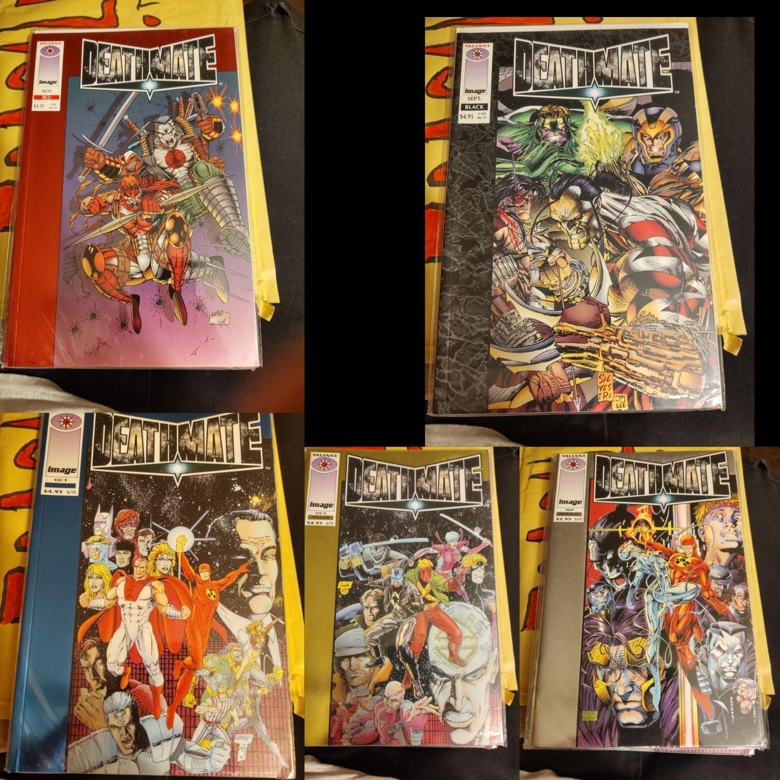 Lot Of 5 Deathmate Comics