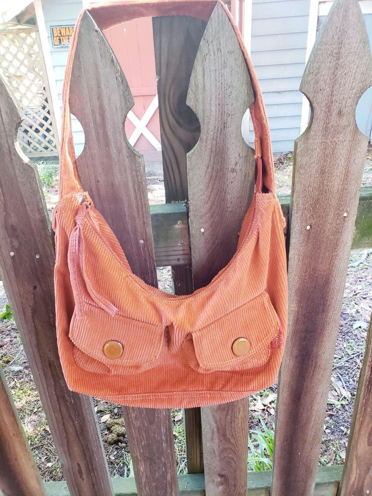 Candies corduroy purse