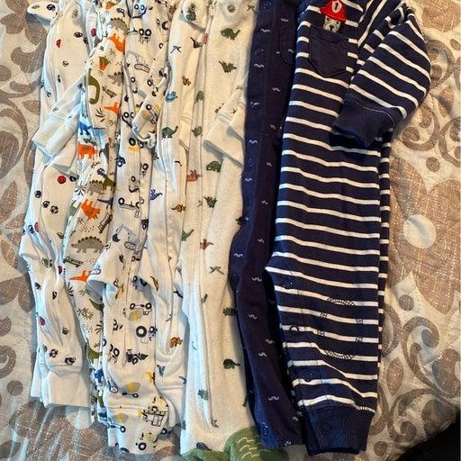 Baby boy 7pc pj bundle