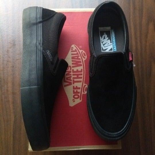 Vans Pro Slip On shoes men size 6 new