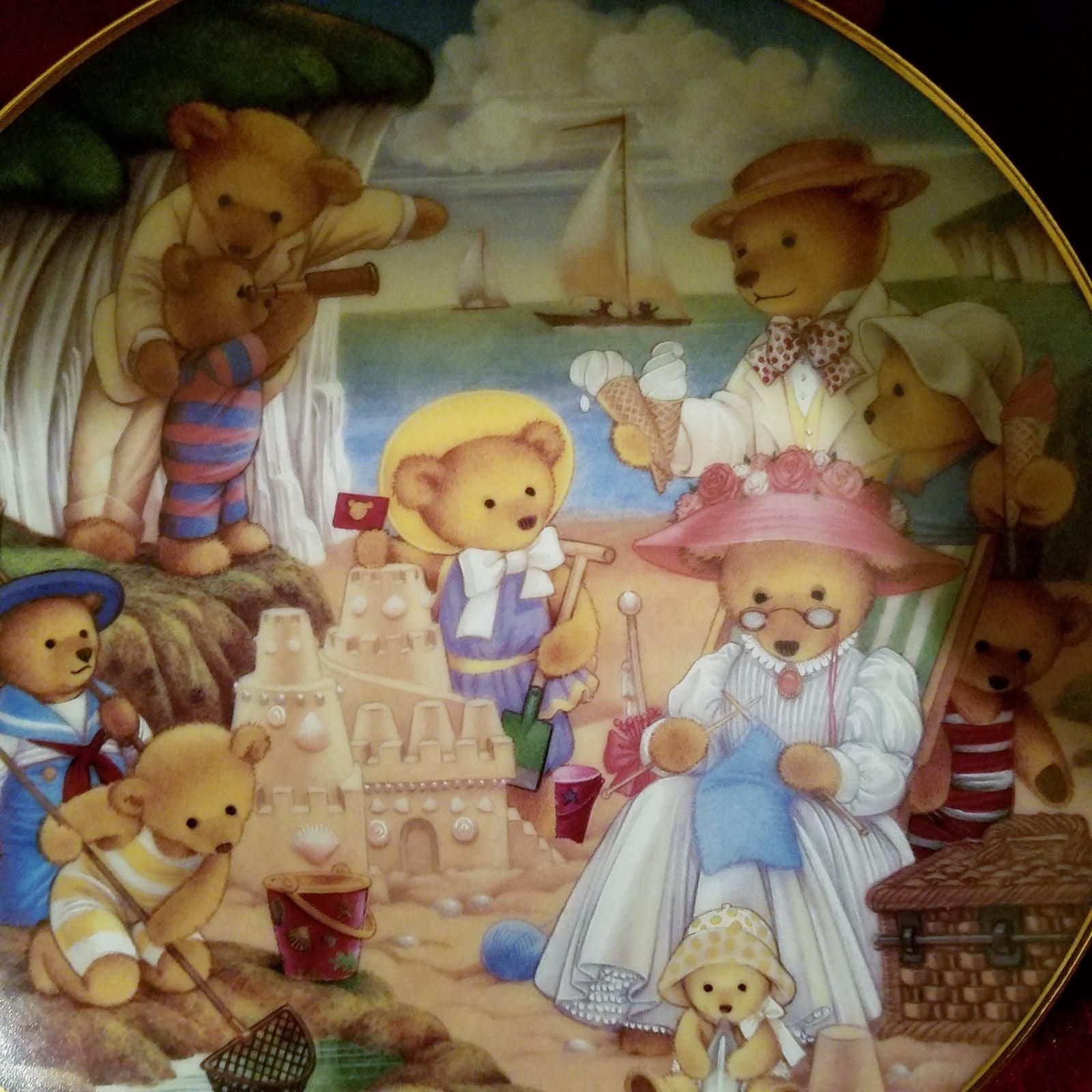 Franklin Mint, Teddy bear beach part pla
