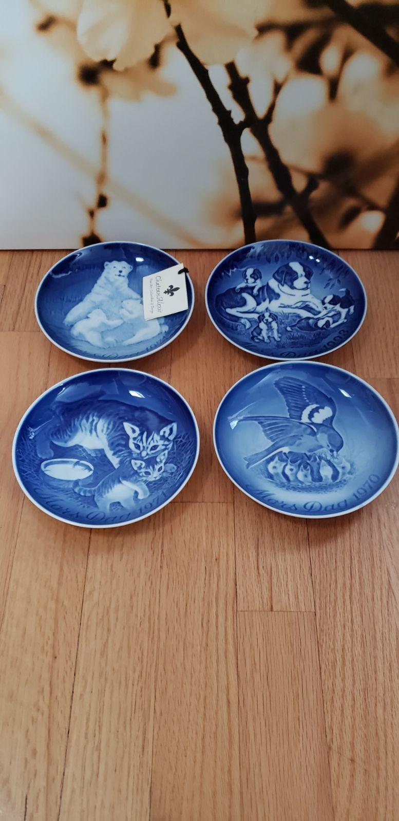 Mother's Day Plates by B&G Copenhagen.