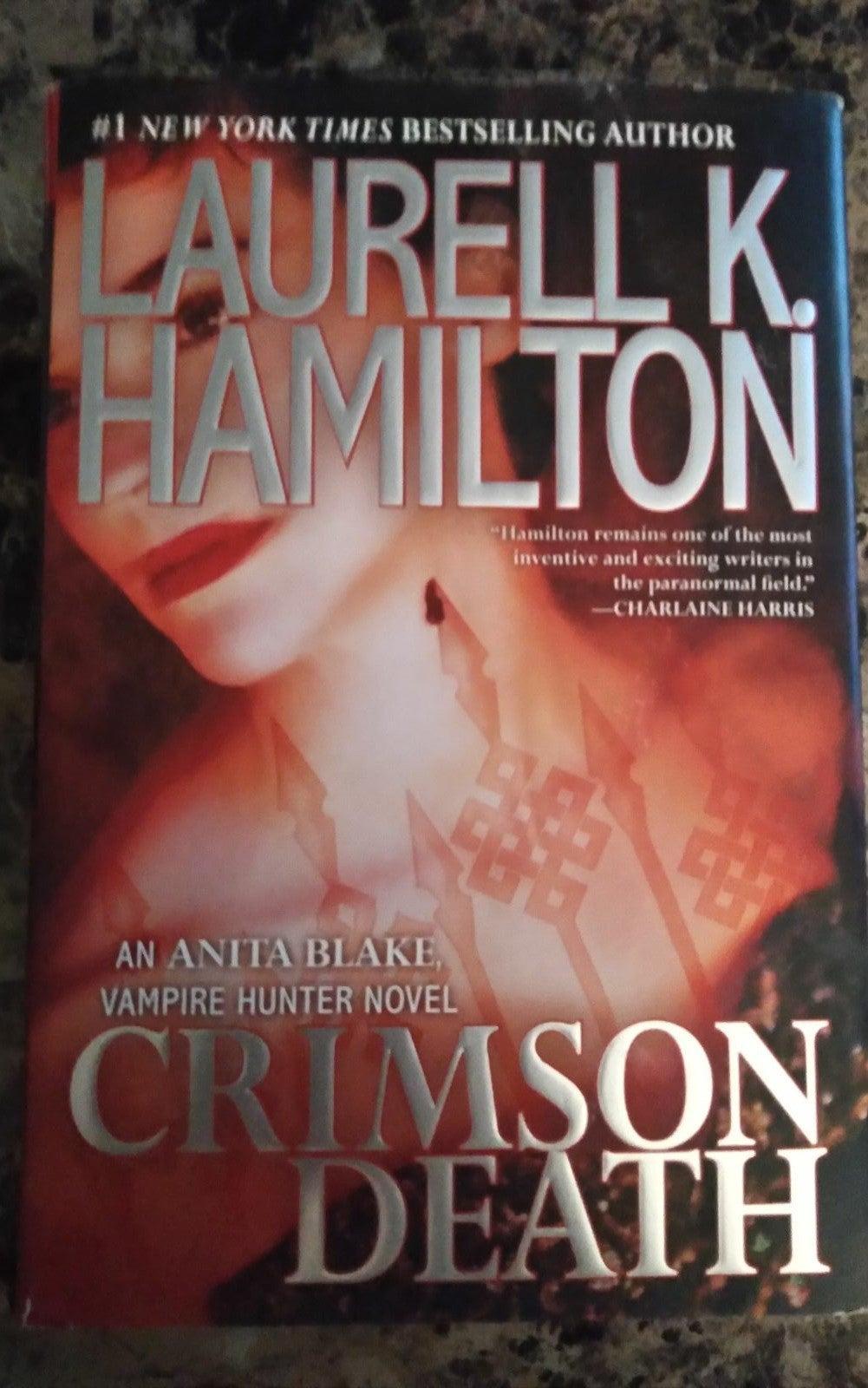 """Crimson Death "" Vampire Hunter Novel"