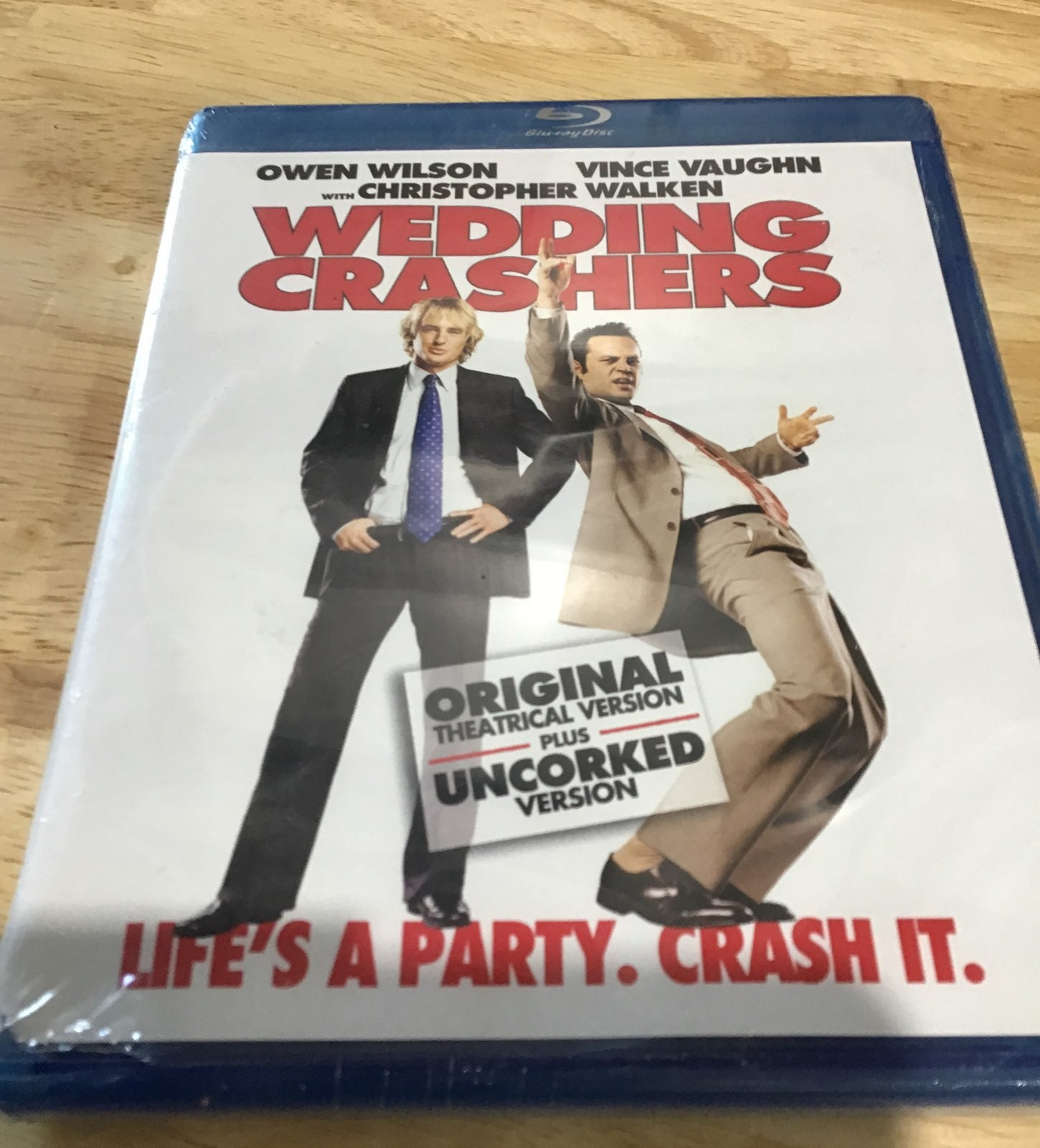 Wedding Crashers DVD, Blueray