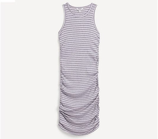 Splendid Striped Ribbed Tank Delta Dress