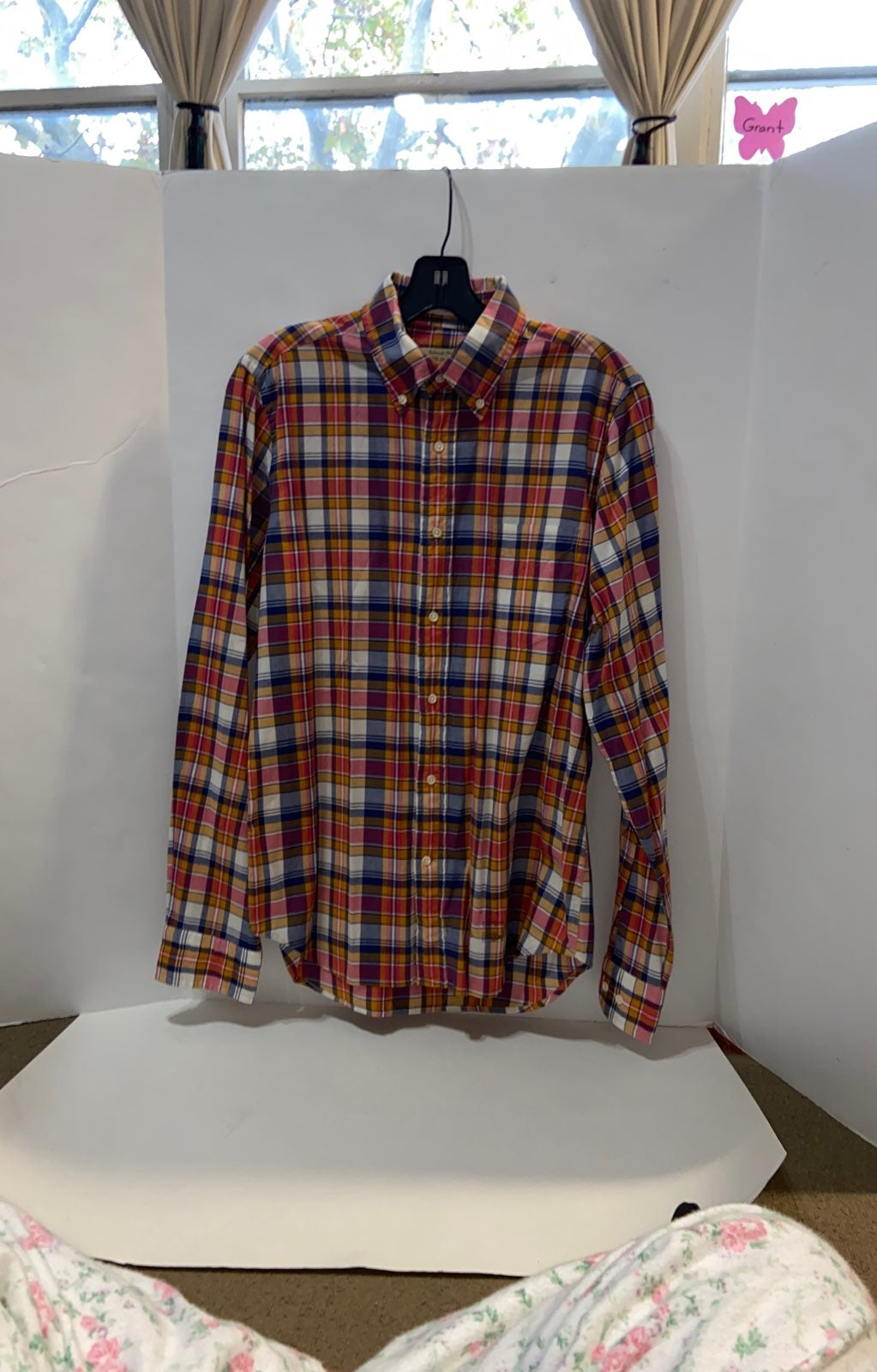 GANT BUTTON DOWN FLANNEL