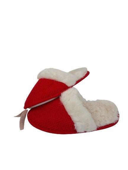 NWT Victoria's Secret fur slippers M 7-8