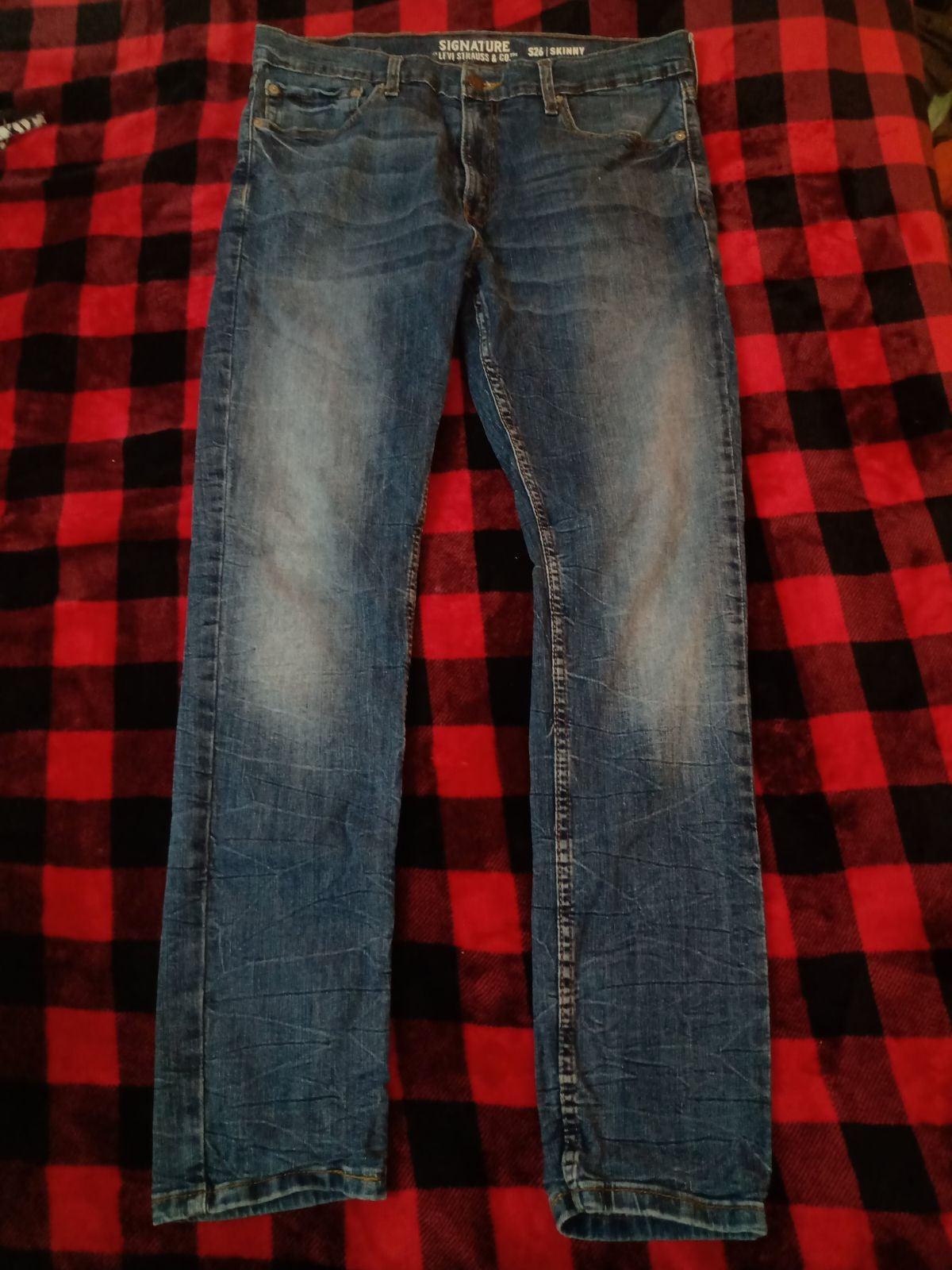 36x32 Levi's S26 Skinny Jeans