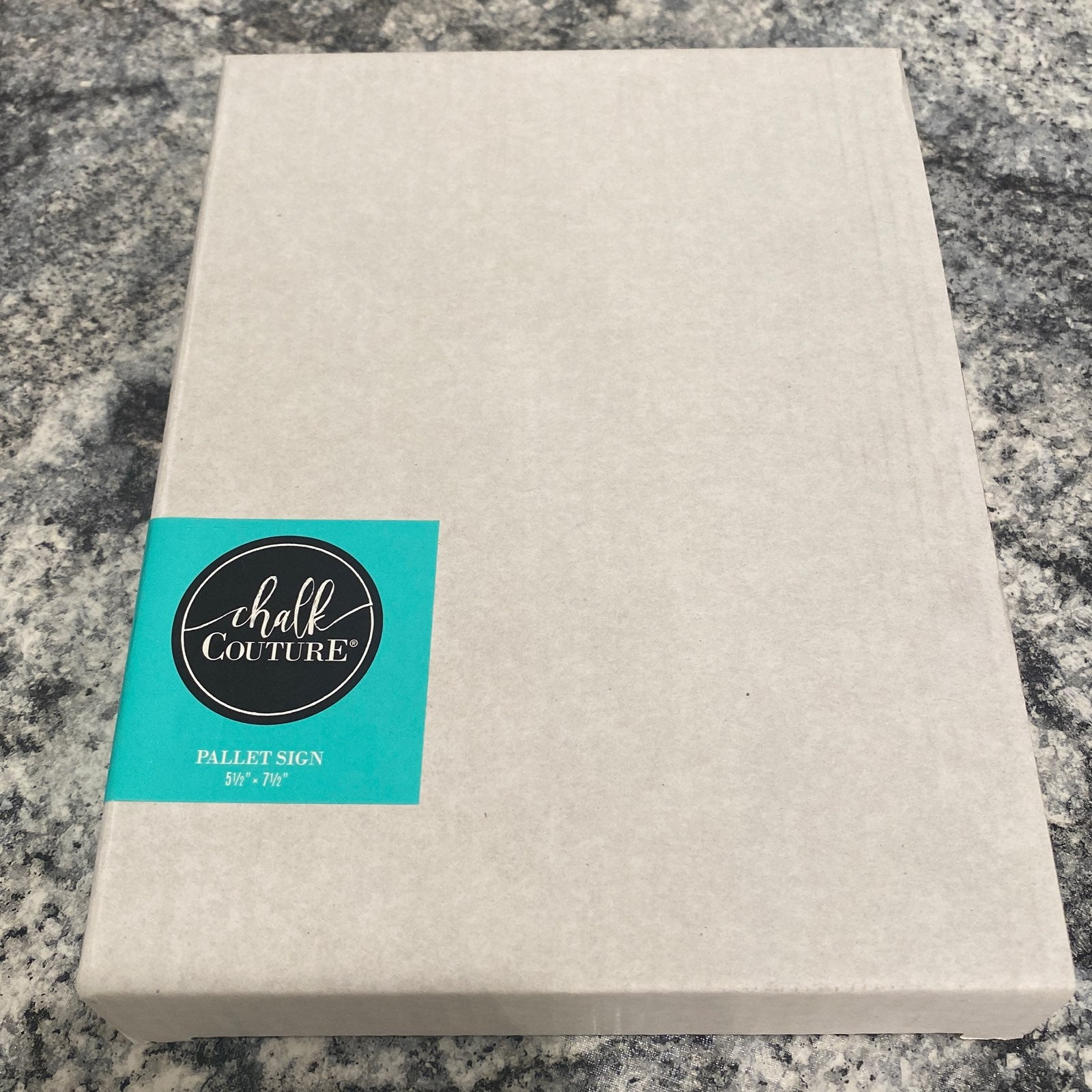 """Chalk Couture Pallet Sign 5½"""" x 7½"""""""