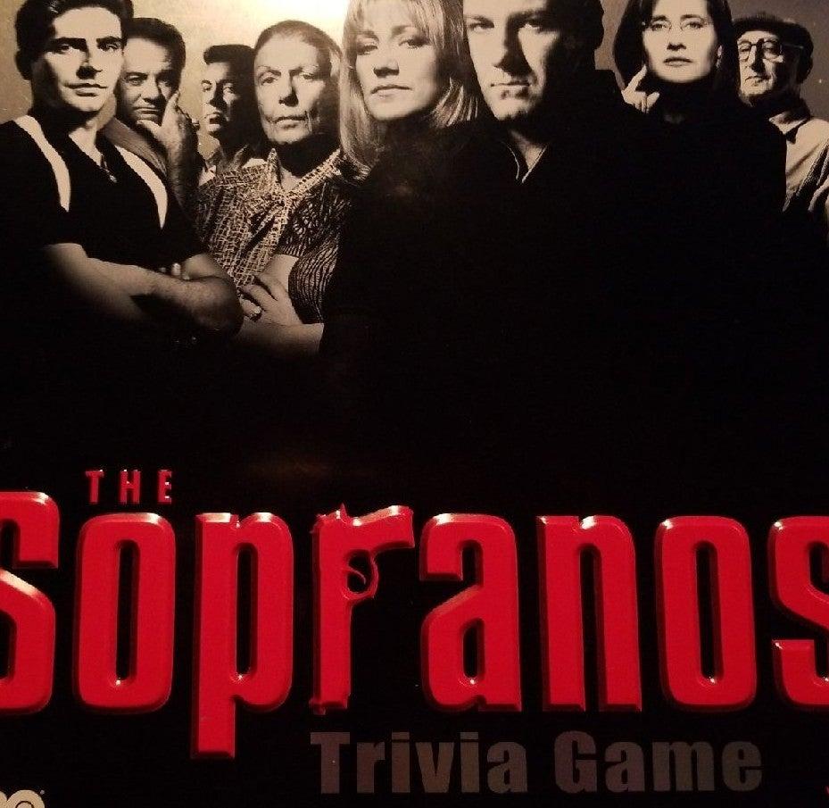 Sopranos Trivia Game Metal Box New