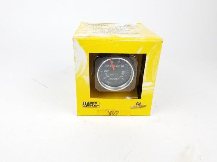 Auto Meter 6107 Gauge, Vac/Boost, Cobalt