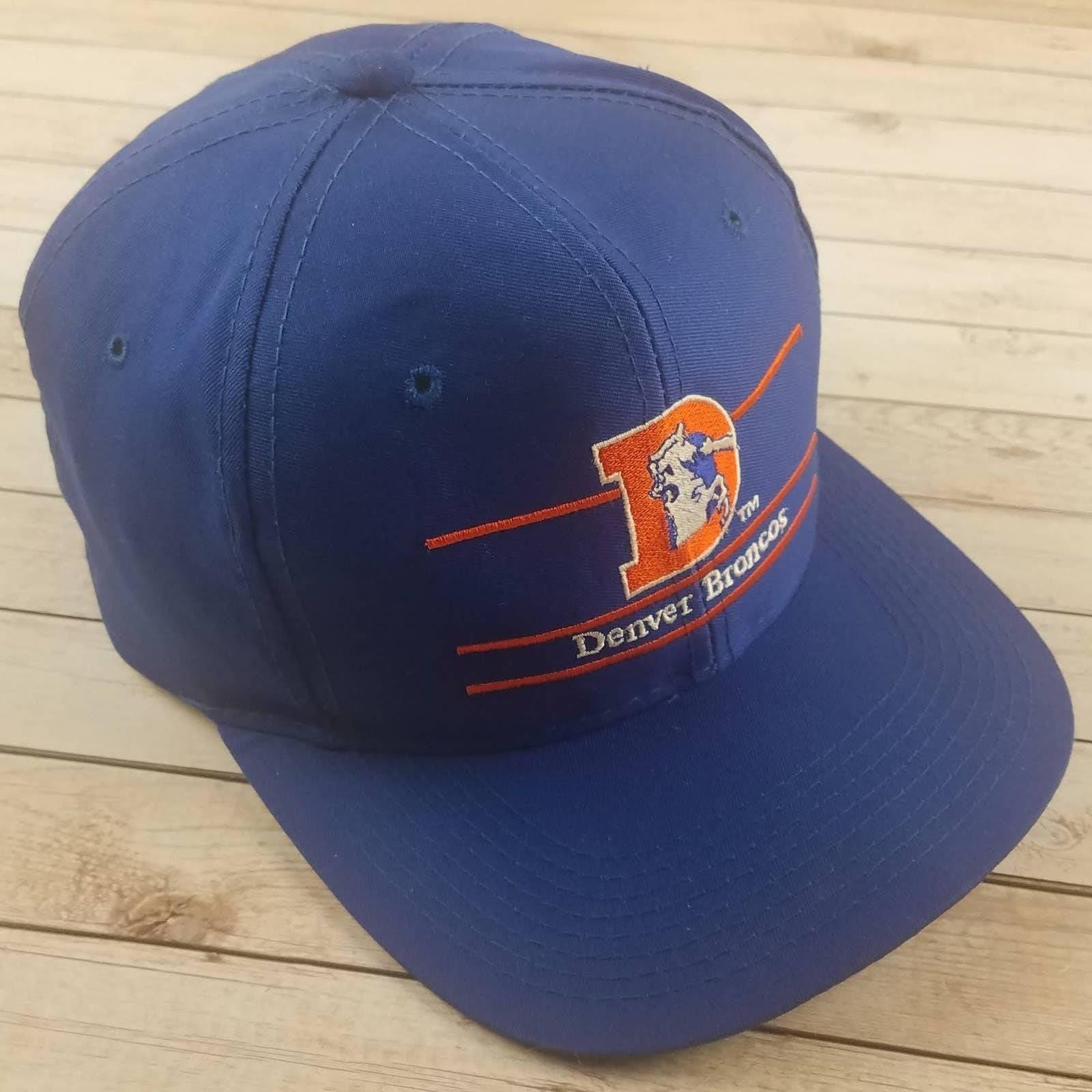 VTG 90s Denver Bronco AnnCo SplitBar Hat