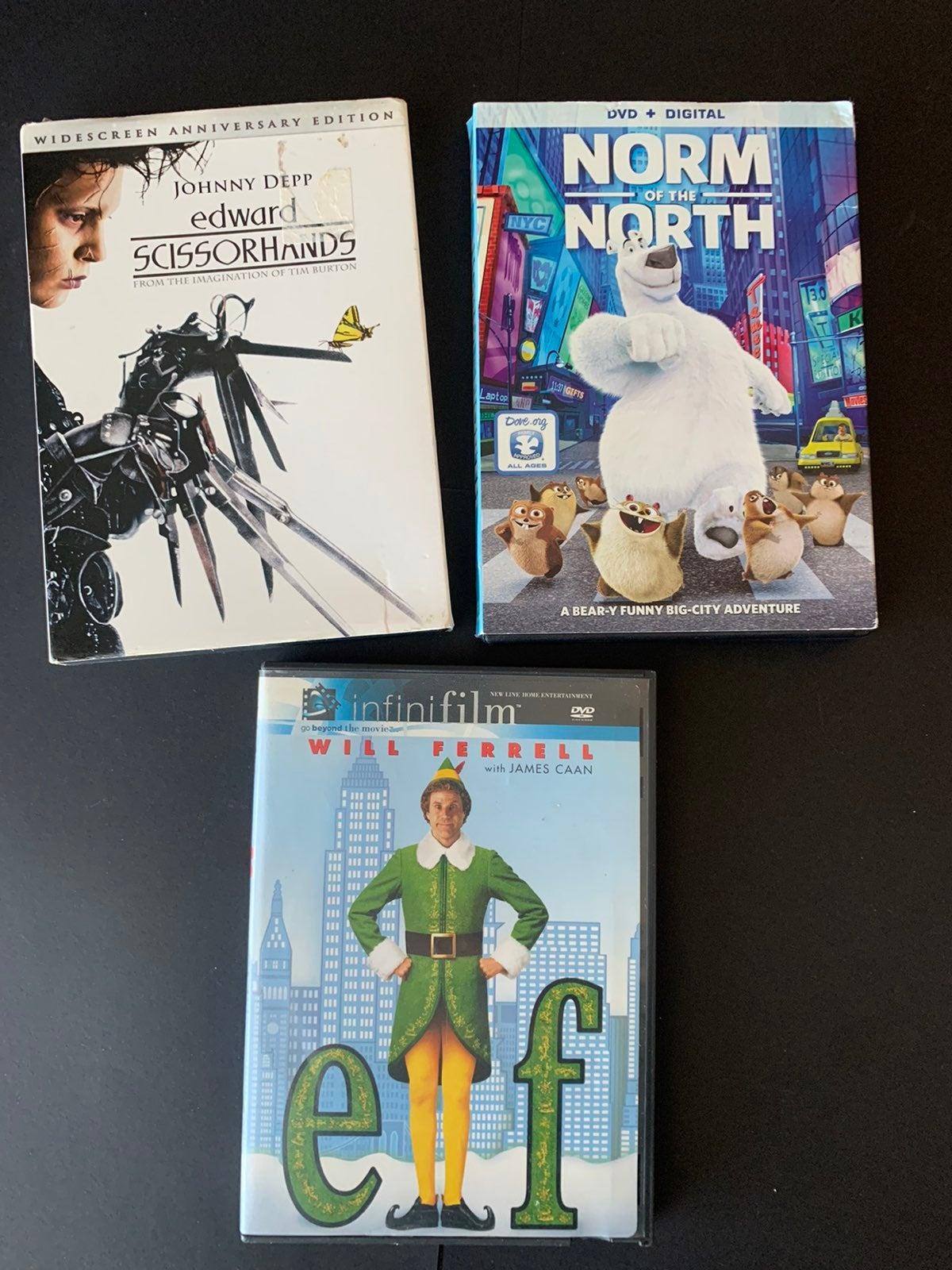 Family DVD Bundle Lot