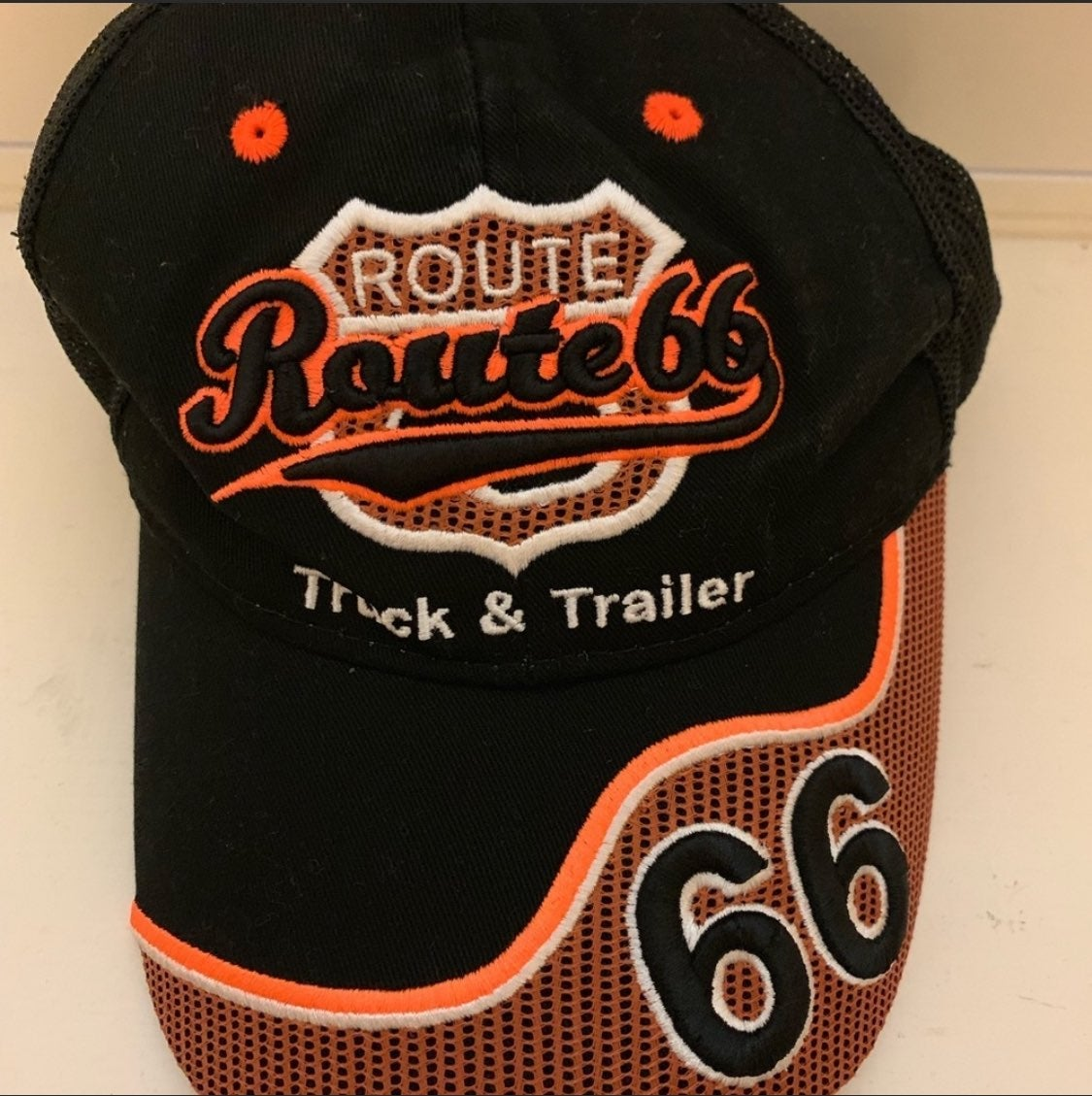 Route 66 truck & trailer cap
