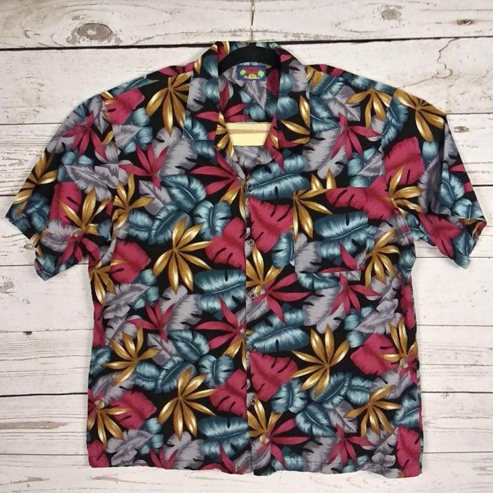 Hawaii Blues Hawaiian Men's Size XL