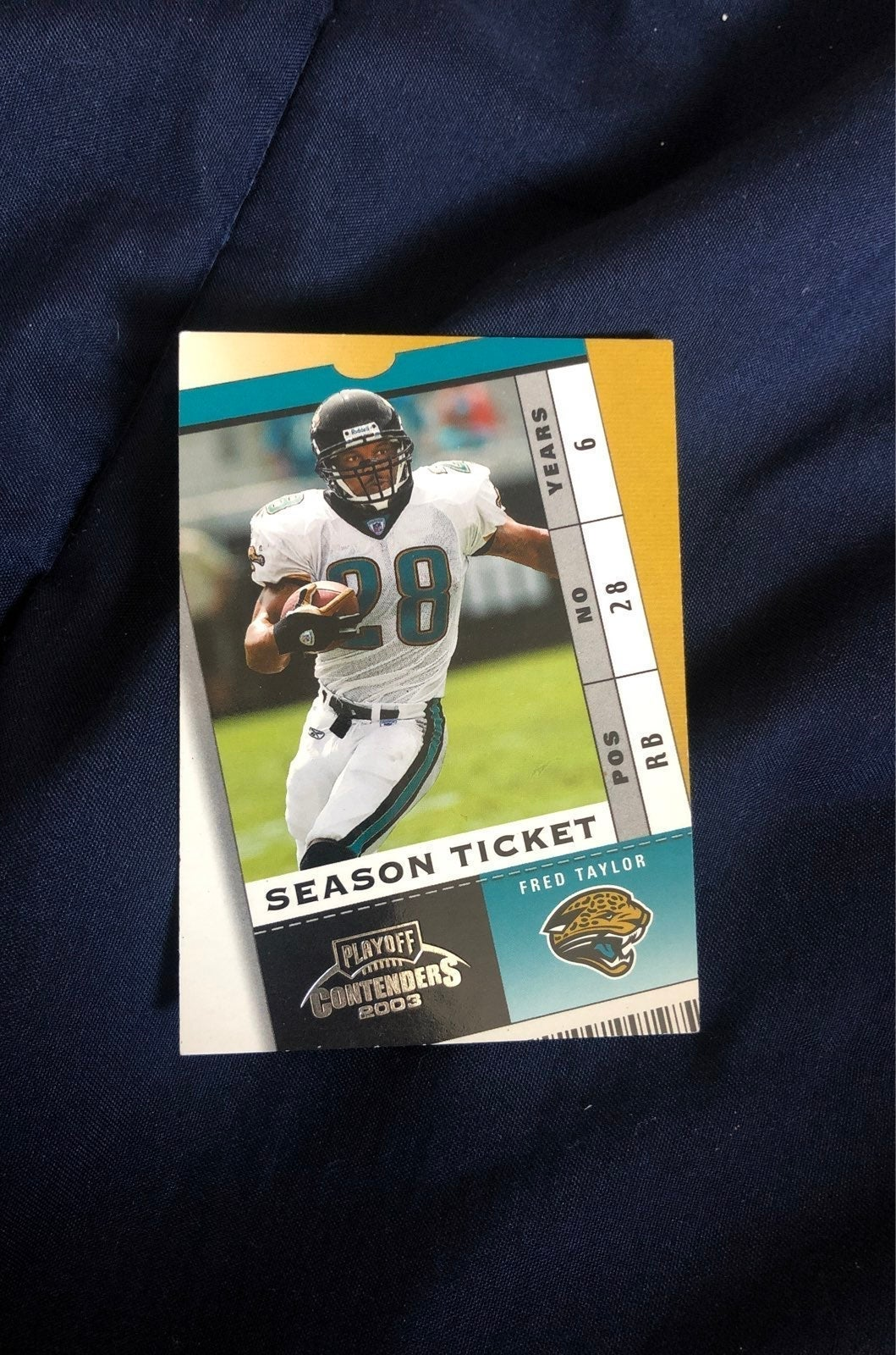 Fred taylor card