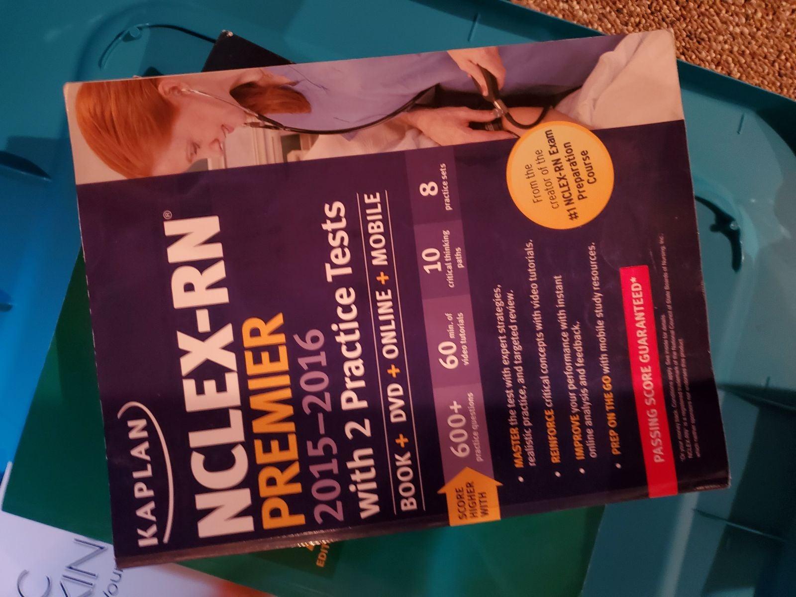 NCLEX Nursing study book