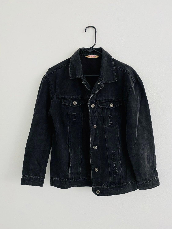 Highway Jeans Distressed Denim Jacket