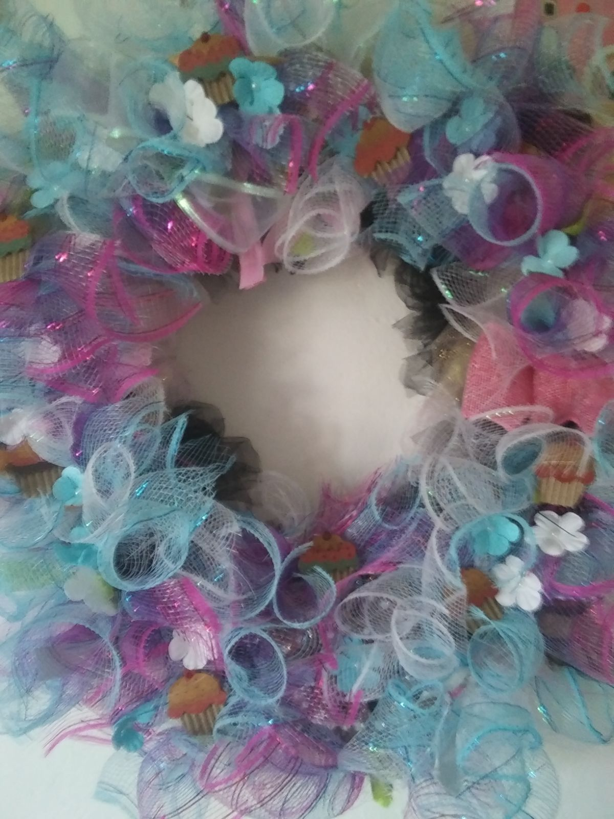 Handmade Fun Quirky Wreath