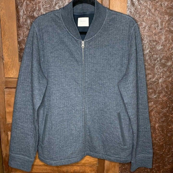 Billy Reid Men's  Gray Soft Knit Sweater