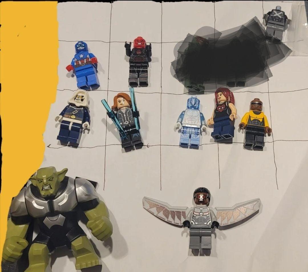 Lego super heroes Marvel lot
