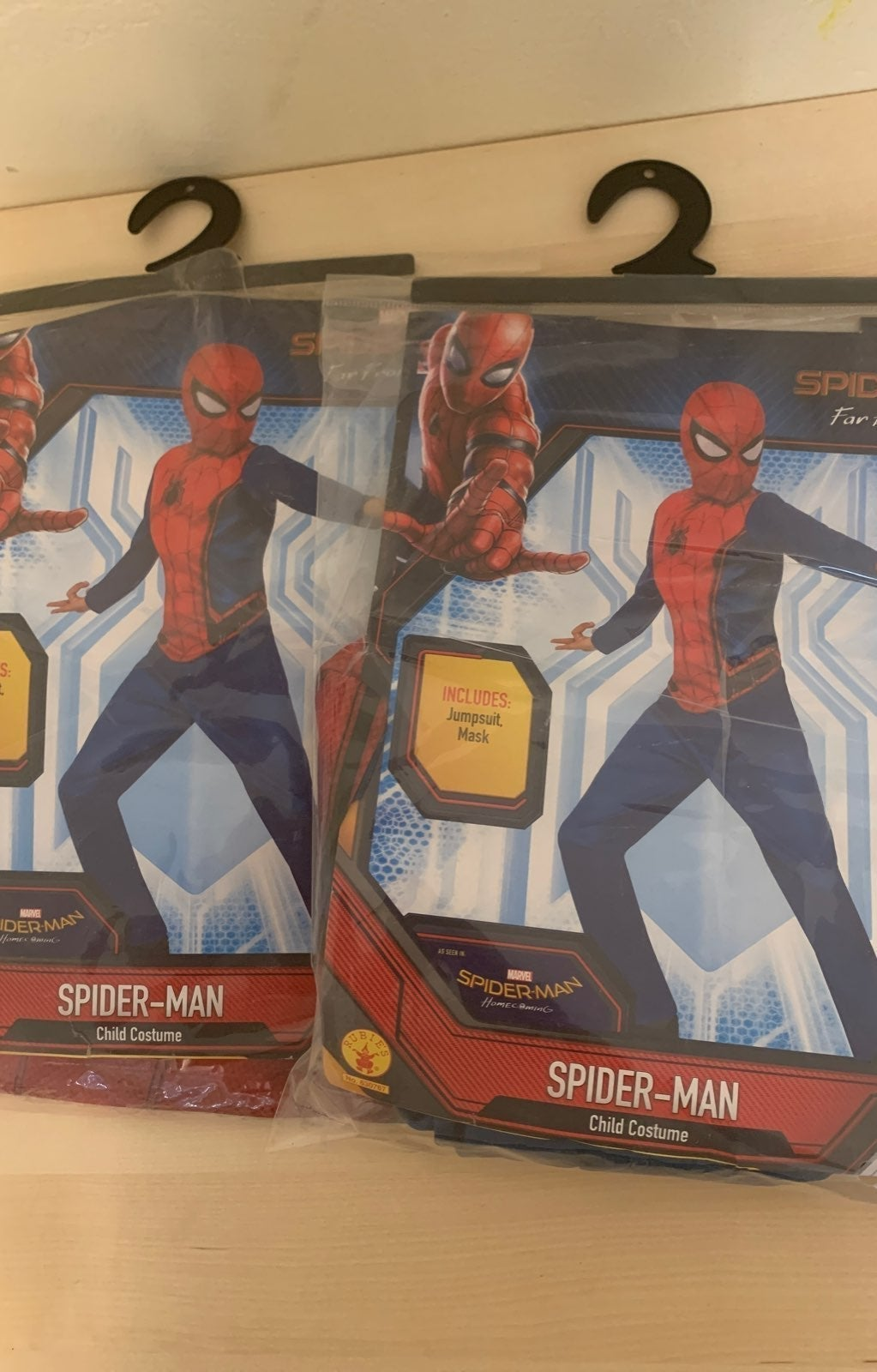 2 Spider-Man Child Costume L