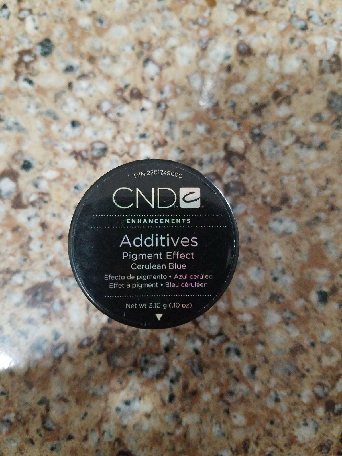 Cnd additives blue  powder