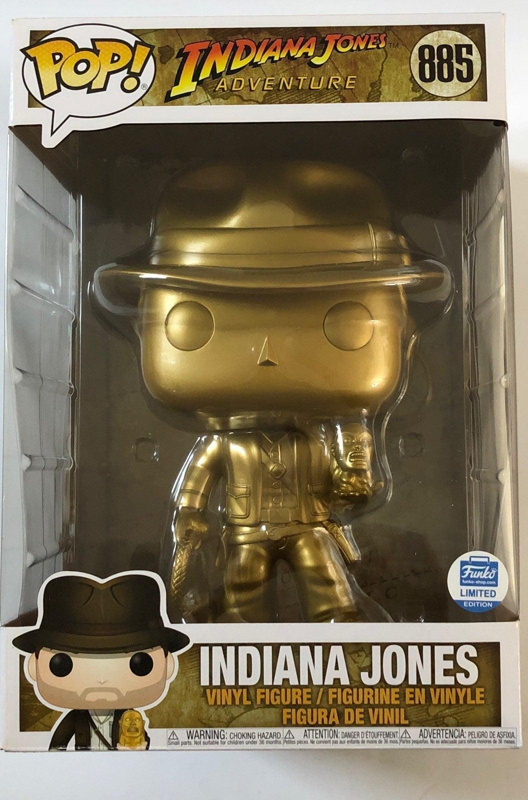 Funko Pop Indiana Jones Gold Funko Shop