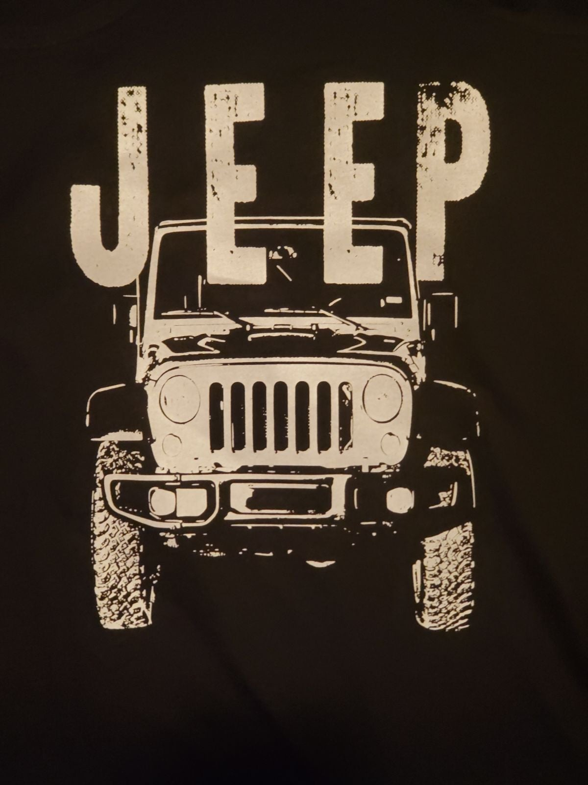 Womens Jeep Racer Back Tank size L