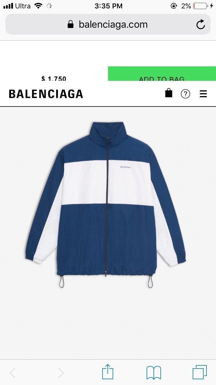 Balenciaga Zip-Up Jacket