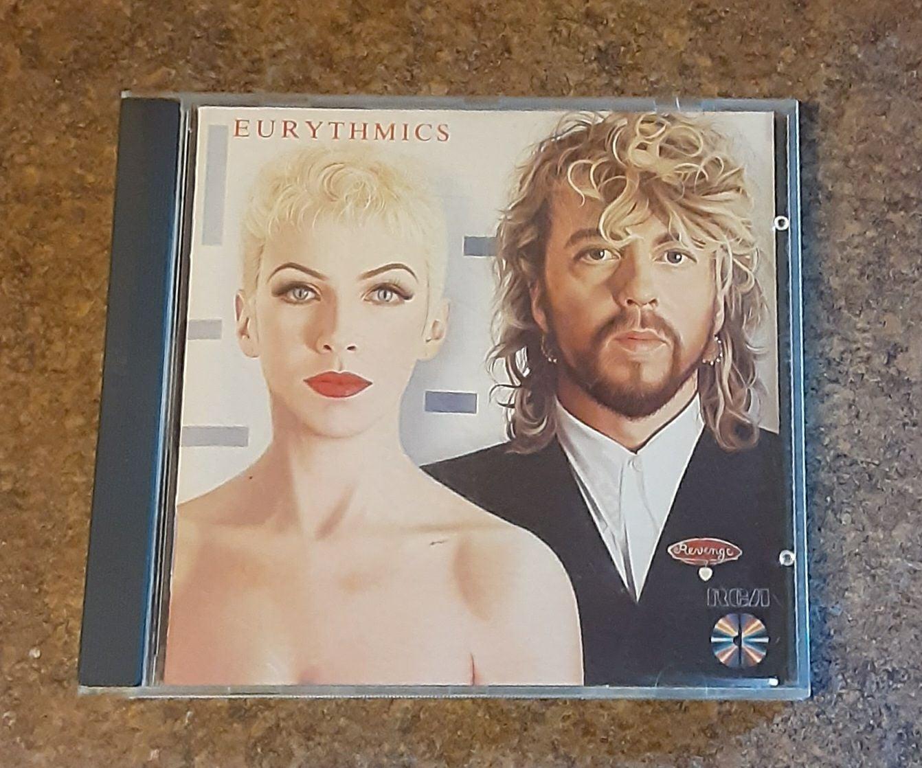 "Eurythmics ""Revenge"" Compact Disc Music"