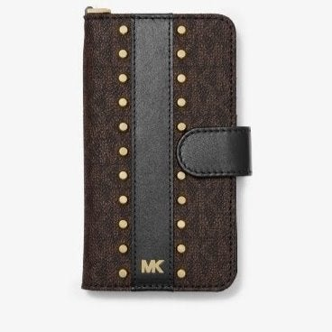 MK Studded Wristlet Case for iPhone X/XS