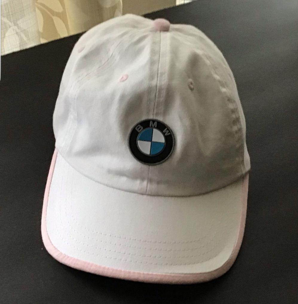 Women Girl BMW hat with adjustable strap