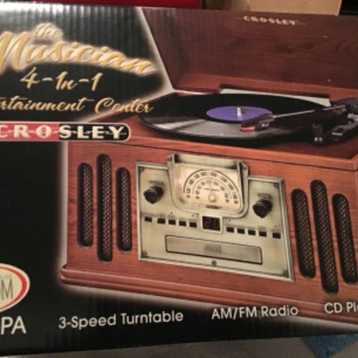 Crosley 4 in 1 Entertainment System CR74