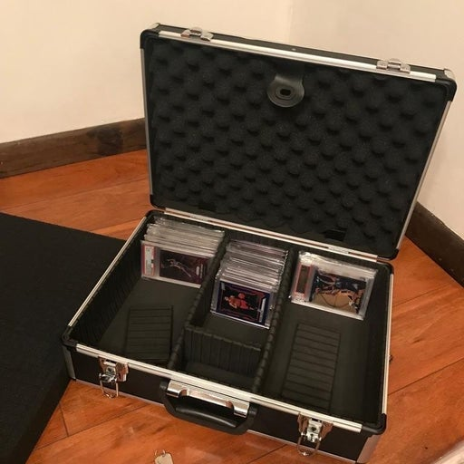 Card display storage case