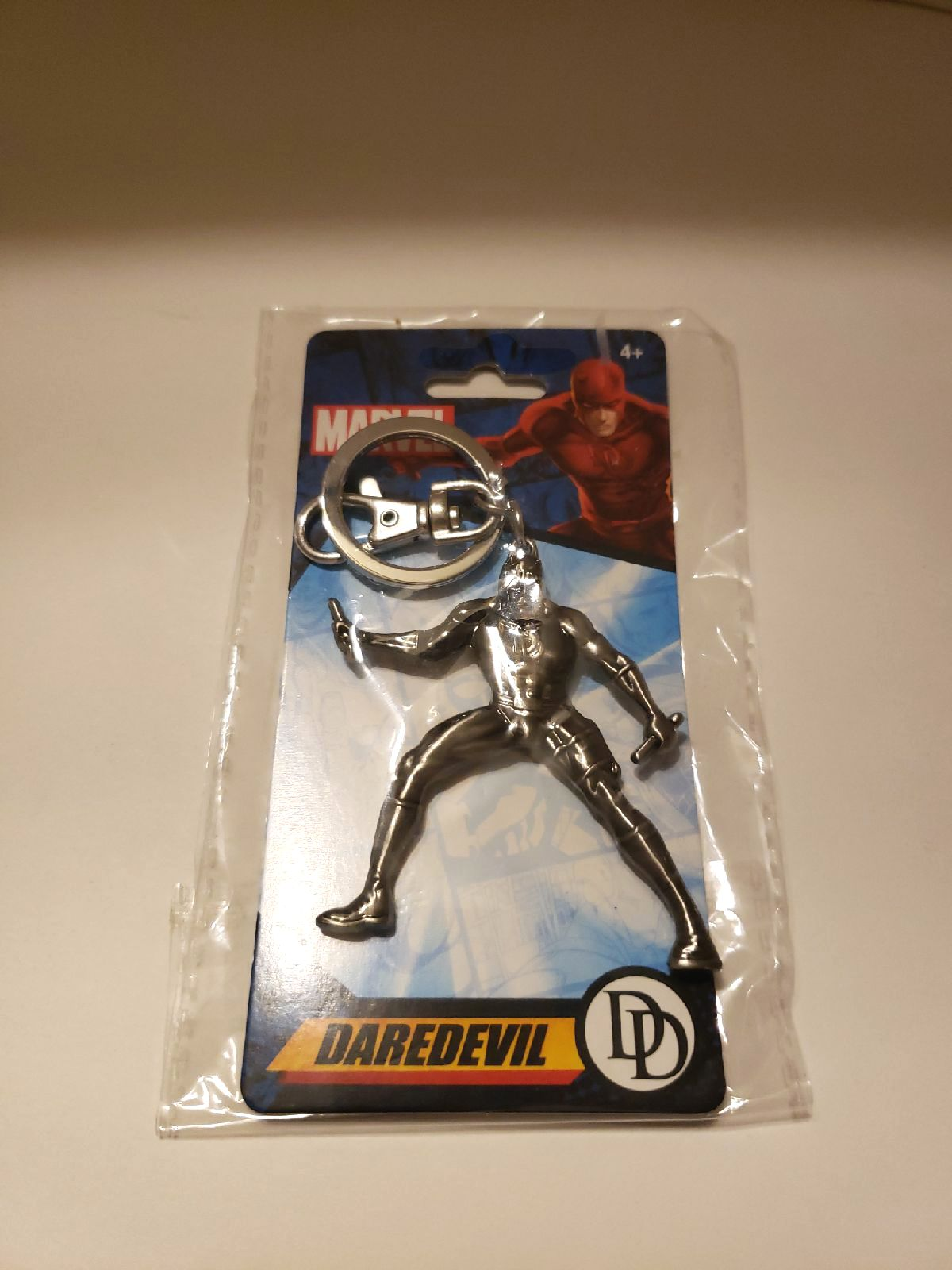 Daredevil Keychain Heavy Metal New