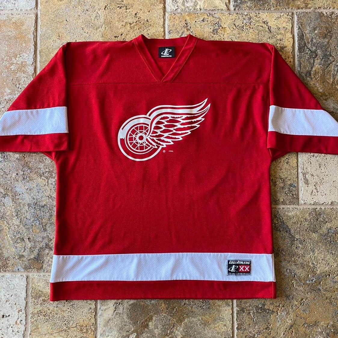 90s Detroit Red Wings Draper #33 Jersey